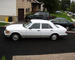 CadillacCatera00 1991 Mercedes-Benz S-Class