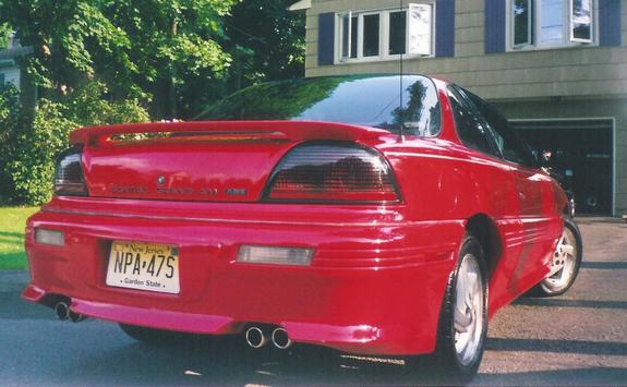 1993 grand am red