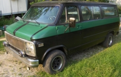 big_teddy_bears 1979 Chevrolet Van