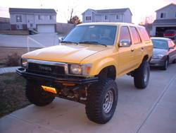 Yellow4runner 1990 Toyota 4Runner