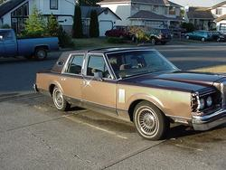 lincoln_lover085 1982 Lincoln Continental