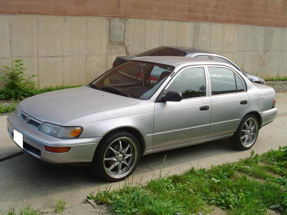 dreadmand 1995 toyota corolla specs photos modification info at cardomain. Black Bedroom Furniture Sets. Home Design Ideas