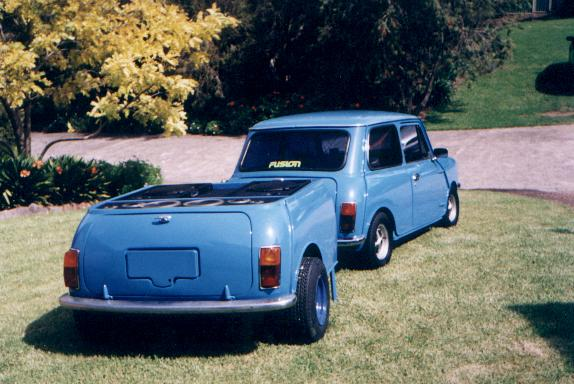 Another khillabee 1974 MINI Clubman post... - 2197420