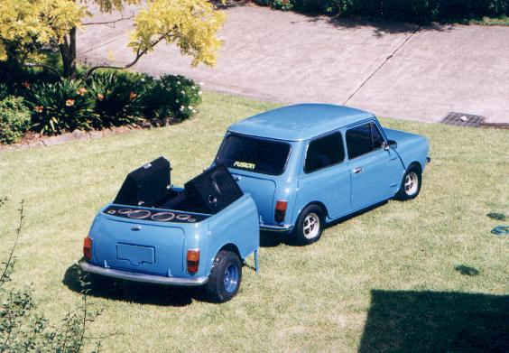 Another khillabee 1974 MINI Clubman post... - 2197421