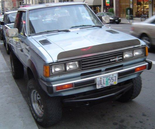 How Are The Older Datsun 720 King Cab Trucks?