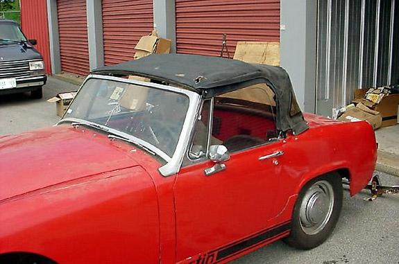 Another auctionsmith 1967 Austin-Healey Sprite post... - 2216262