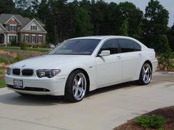 3sets12chromed 2003 BMW 7 Series