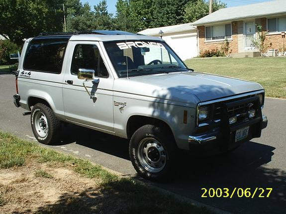 badassbroii 1986 ford bronco ii specs photos. Black Bedroom Furniture Sets. Home Design Ideas