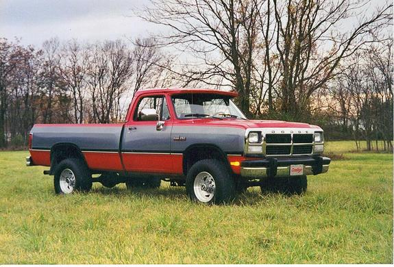 coopscomet 1993 Dodge Ram 1500 Regular Cab Specs, Photos ...