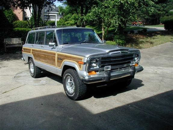 Another xfadedrebelx 1987 Jeep Grand Wagoneer post... - 2273607