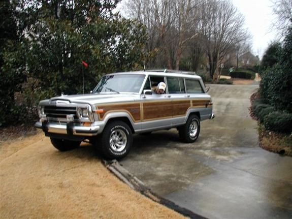 Another xfadedrebelx 1987 Jeep Grand Wagoneer post... - 2273632