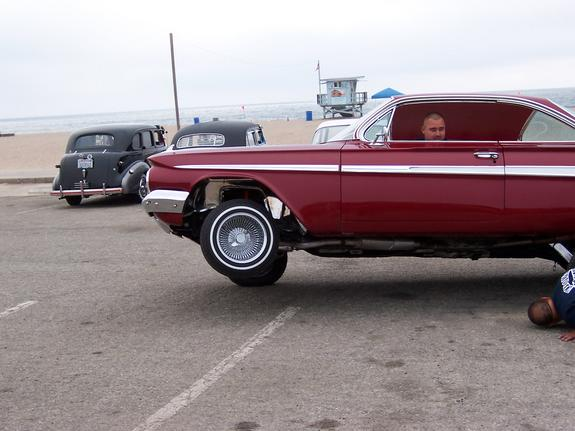 Another westbound 1959 Chevrolet Impala post... - 8205804