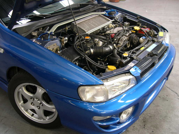 how to change cluster bulbs 2002 wrx