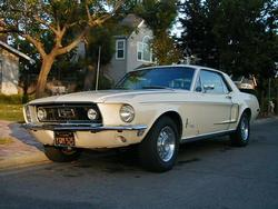 68SprintB 1968 Ford Mustang