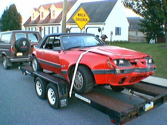 Another oreck 1986 Ford Mustang post... - 2374489