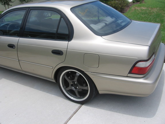 Toyota Corolla Tires >> Corolli 1995 Toyota Corolla Specs, Photos, Modification ...