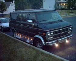 madbass1s 1995 Chevrolet Van