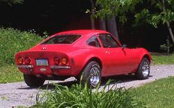 1973_Opel_gt's 1973 Opel GT