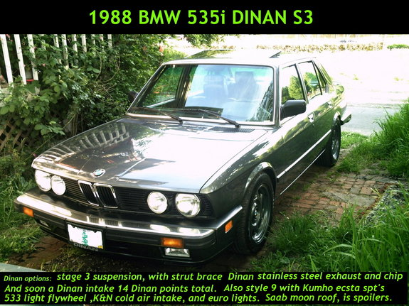 DinanE28 1988 BMW 5 Series 2444660