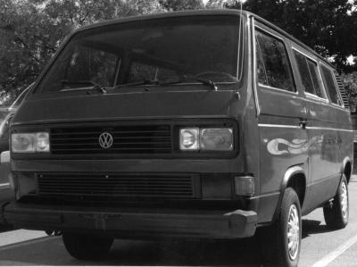 fouroclocks 1987 Volkswagen Vanagon