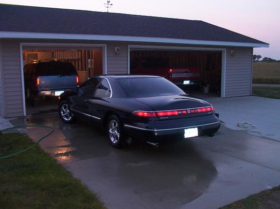 94lincobrapower 1994 lincoln mark viii specs photos. Black Bedroom Furniture Sets. Home Design Ideas