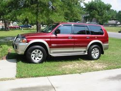 ggreenhollas 2000 Mitsubishi Montero Sport