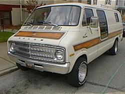 RocketFoot 1977 Dodge Ram Van 150
