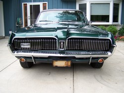 christang 1967 Mercury Cougar