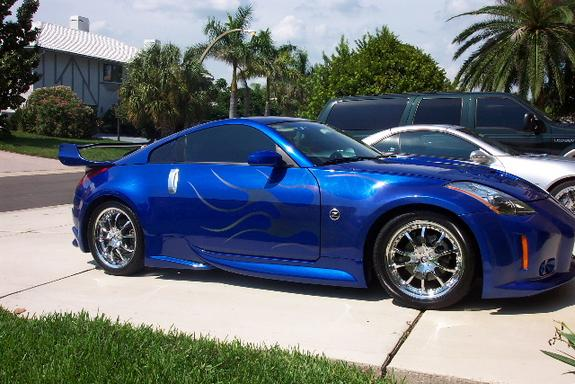 zmcstylez 2003 nissan 350z specs photos modification. Black Bedroom Furniture Sets. Home Design Ideas