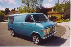 shortyvan76 1976 Chevrolet Van