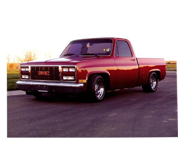 HeyGoat4J's 1981 GMC Sierra 1500 Regular Cab