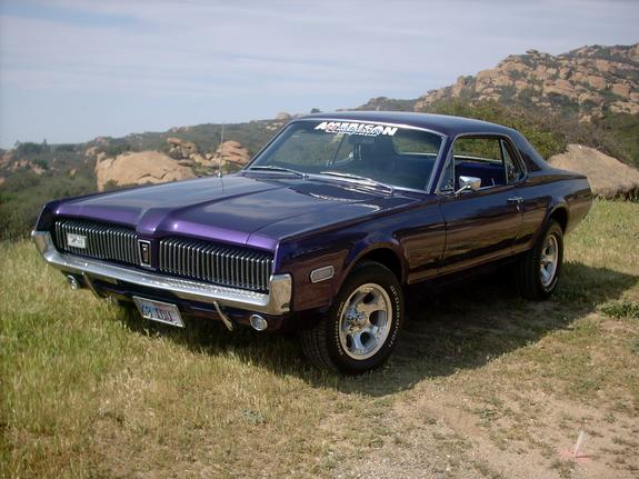 Another friskykitty 1968 Mercury Cougar post... - 2632744