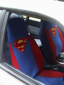 These Are My Superman Seat Covers They Just About All The Style Car