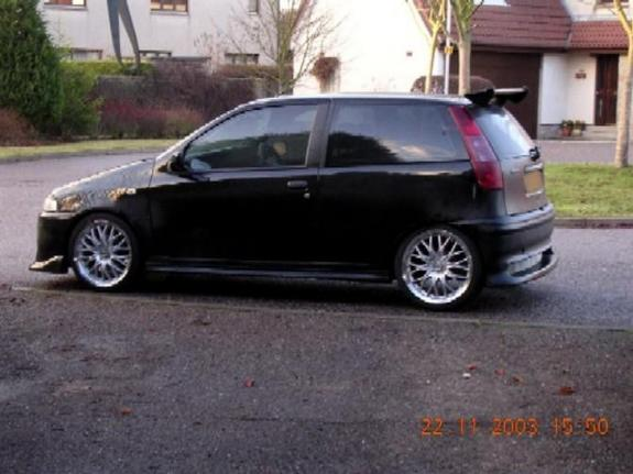 jester16v 1998 fiat punto specs photos modification info. Black Bedroom Furniture Sets. Home Design Ideas