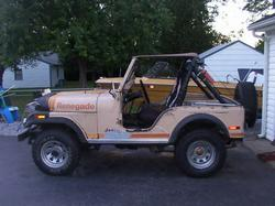 weapoole 1980 Jeep CJ5