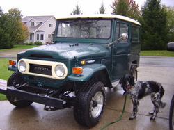 FineWynsFJ40 1974 Toyota Land Cruiser