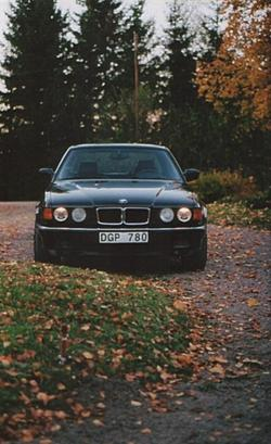 parf740s 1993 BMW 7 Series