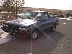 nisstrucks 1985 Subaru Brat