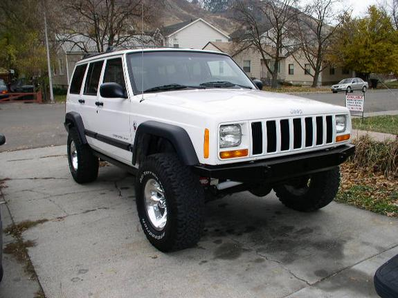 Jeep Cherokee Customs Paint White