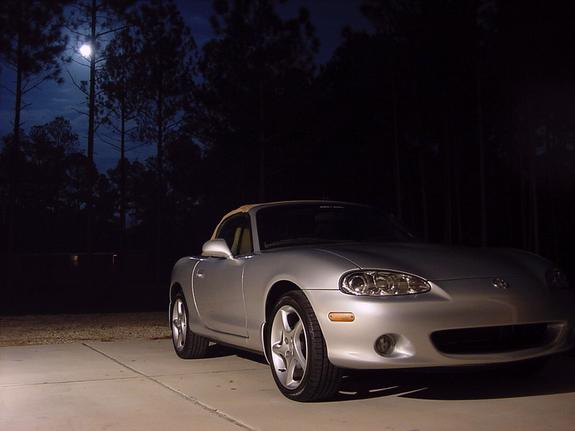 Moon Over Miata Shiny At Night And Then There Were 7... Started With