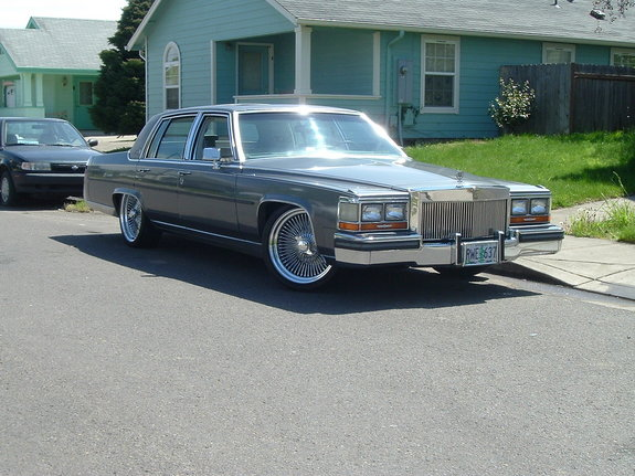 Another caddypusha 1987 Cadillac Brougham post... - 2763580