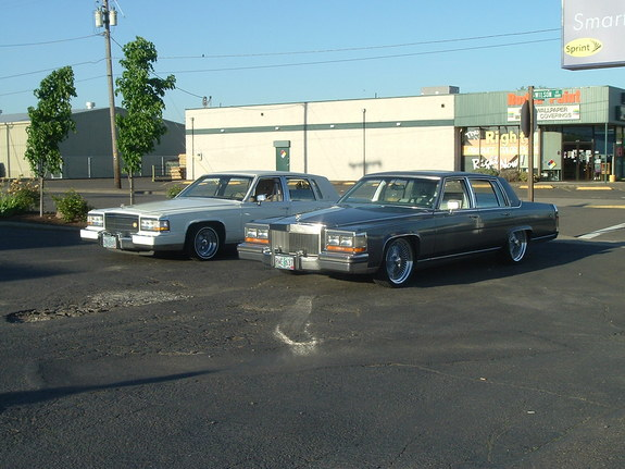 Another caddypusha 1987 Cadillac Brougham post... - 4702721