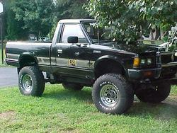 Nissan4Wheelers 1985 Nissan Regular Cab