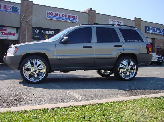 houseofdubs 2000 jeep grand cherokee specs photos modification info at cardomain. Black Bedroom Furniture Sets. Home Design Ideas