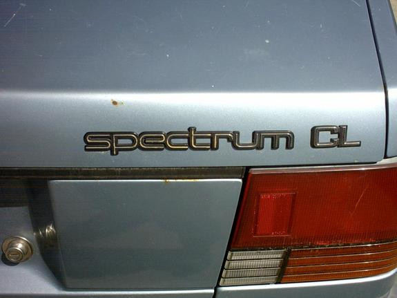 Another Missiul 1987 Chevrolet Spectrum post... - 2913798
