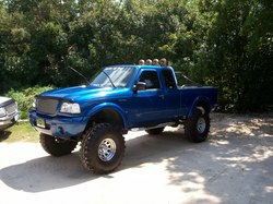 01BlueEdge 2001 Ford Ranger Regular Cab