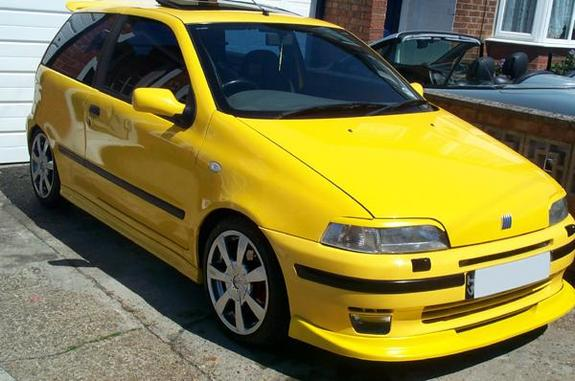paul yellow gt 1996 fiat punto specs photos modification info at cardomain. Black Bedroom Furniture Sets. Home Design Ideas