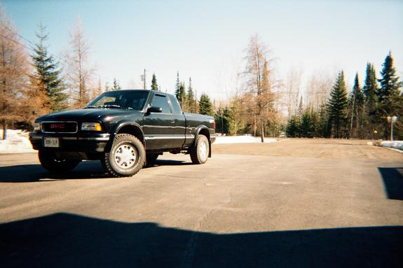 96ZR2Highrider 1996 GMC Sonoma Club Cab 3011548