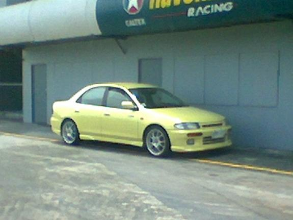 Another artheoday 1997 Mazda Protege post... - 3026705