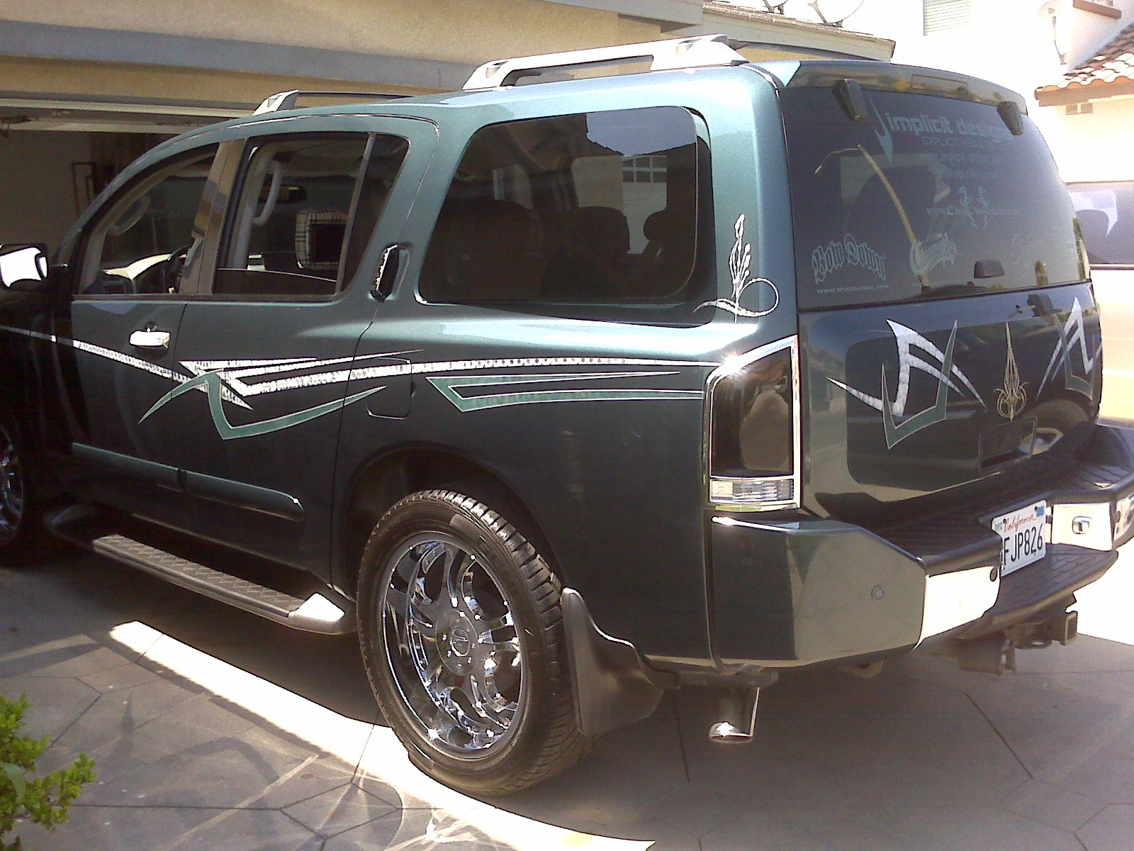 another remy7142002 2004 nissan pathfinder armada post photo 3025787. Black Bedroom Furniture Sets. Home Design Ideas